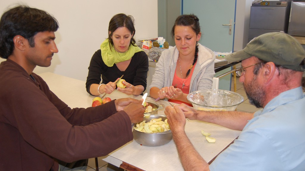 Atelier cuisine au Trait d'Union